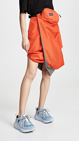 Pushbutton Skirts UTILITY CONTRAST SKIRT
