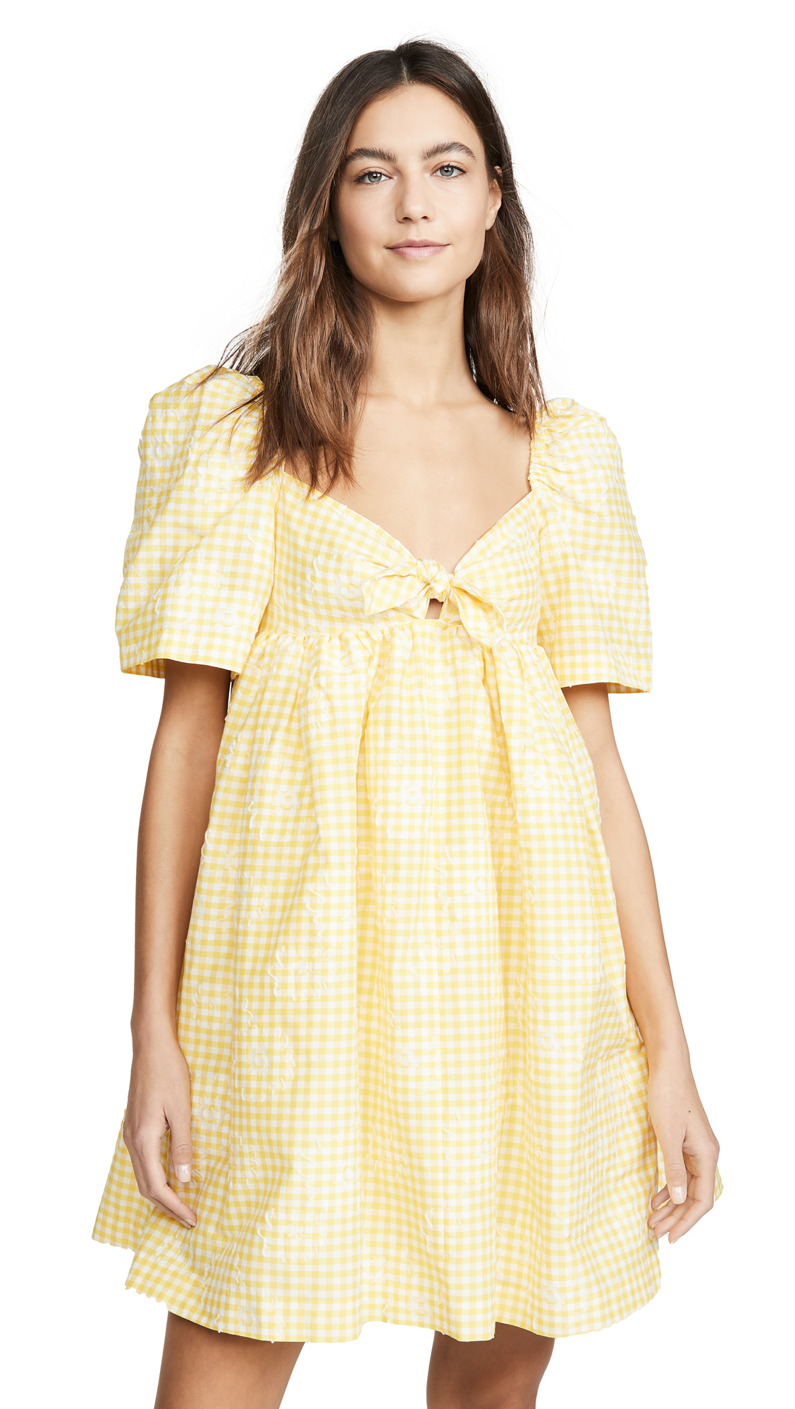 pushBUTTON Puff Mini Dress - 50% Off Sale