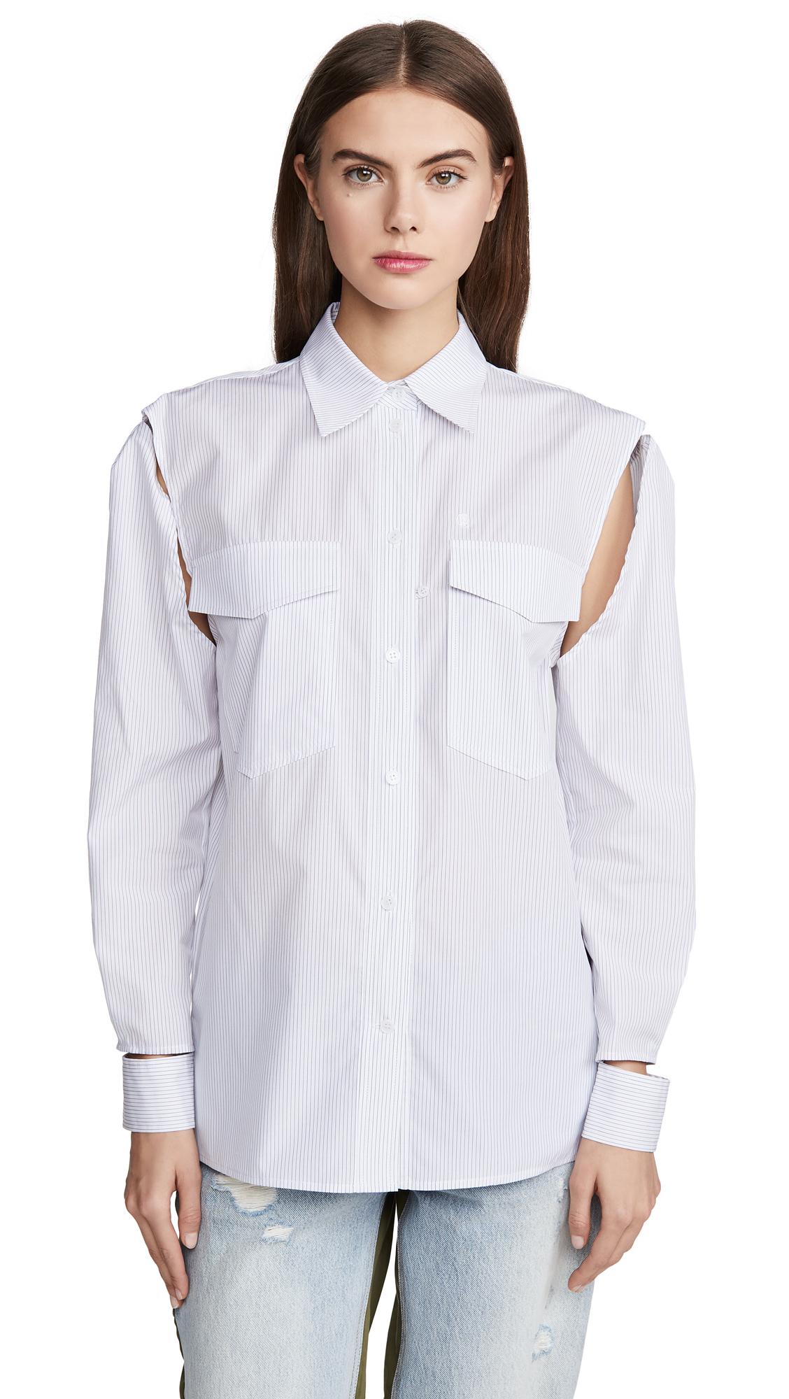 pushBUTTON Cutout Shirt – 50% Off Sale
