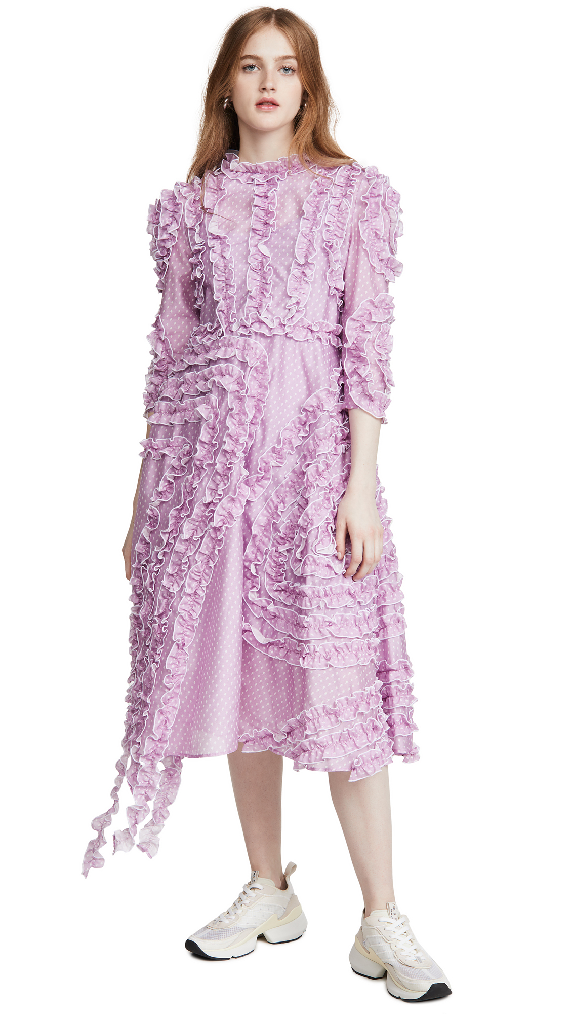 pushBUTTON Trimming Frill Dress - 40% Off Sale