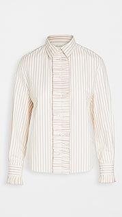 pushBUTTON Frill Point 衬衫