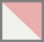 象牙白/红色条纹