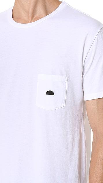 Quality Peoples Sun Logo Pocket Tee