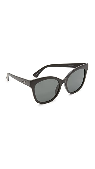 Quay It's My Way Sunglasses In Black/Smoke