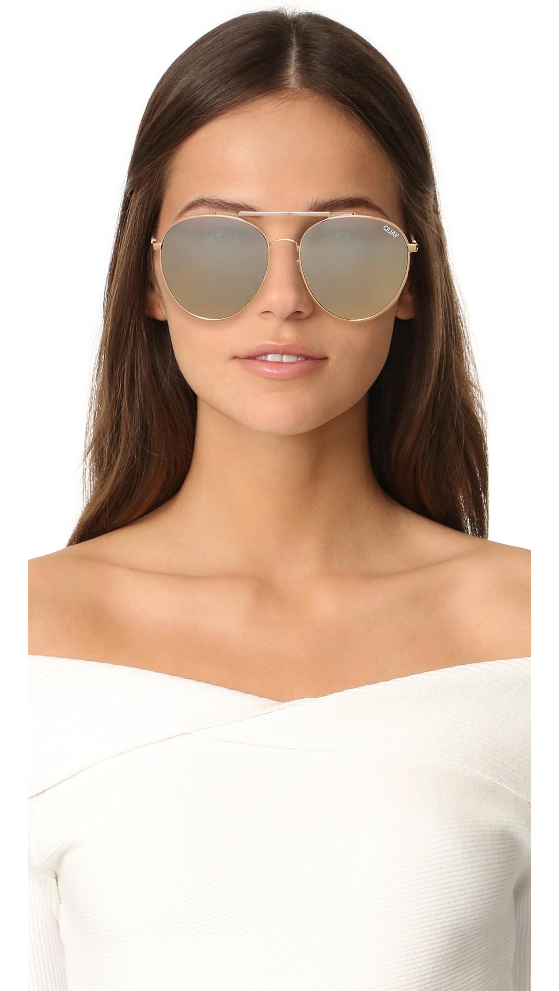 63765f2ec1063 Quay Lickety Split Sunglasses