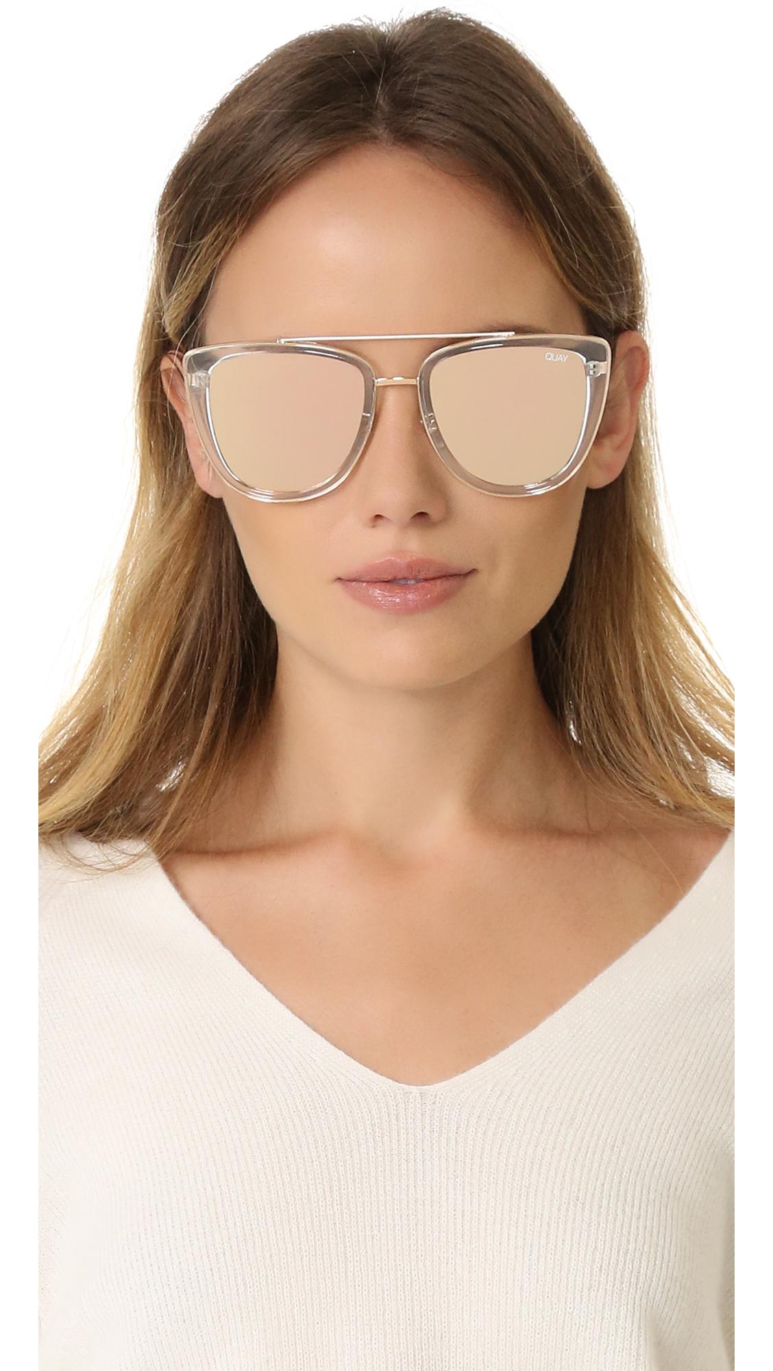 4f9c21e64a39e Quay French Kiss Sunglasses