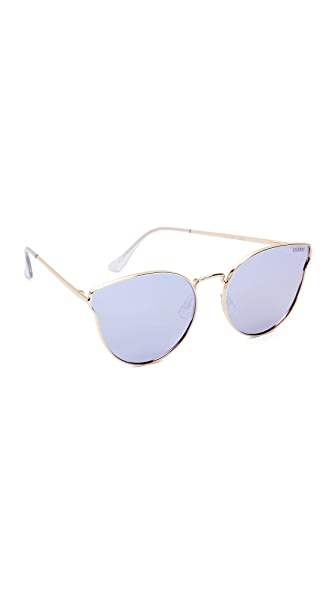 Quay All My Love Sunglasses - Gold/Purple