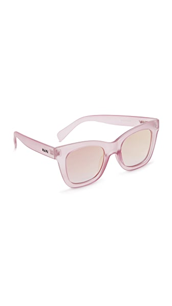 Quay After House Sunglasses - Pink/Pink