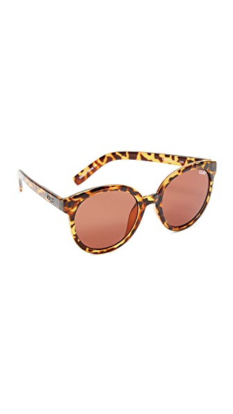Quay High Tea Sunglasses - Tortoise/Brown