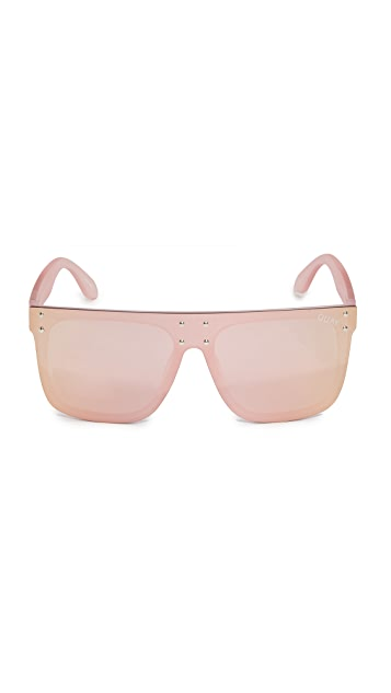 Quay #QUAYXKYLIE Hidden Hills Sunglasses