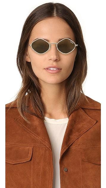 Quay #QUAYXKYLIE Purple Honey Sunglasses