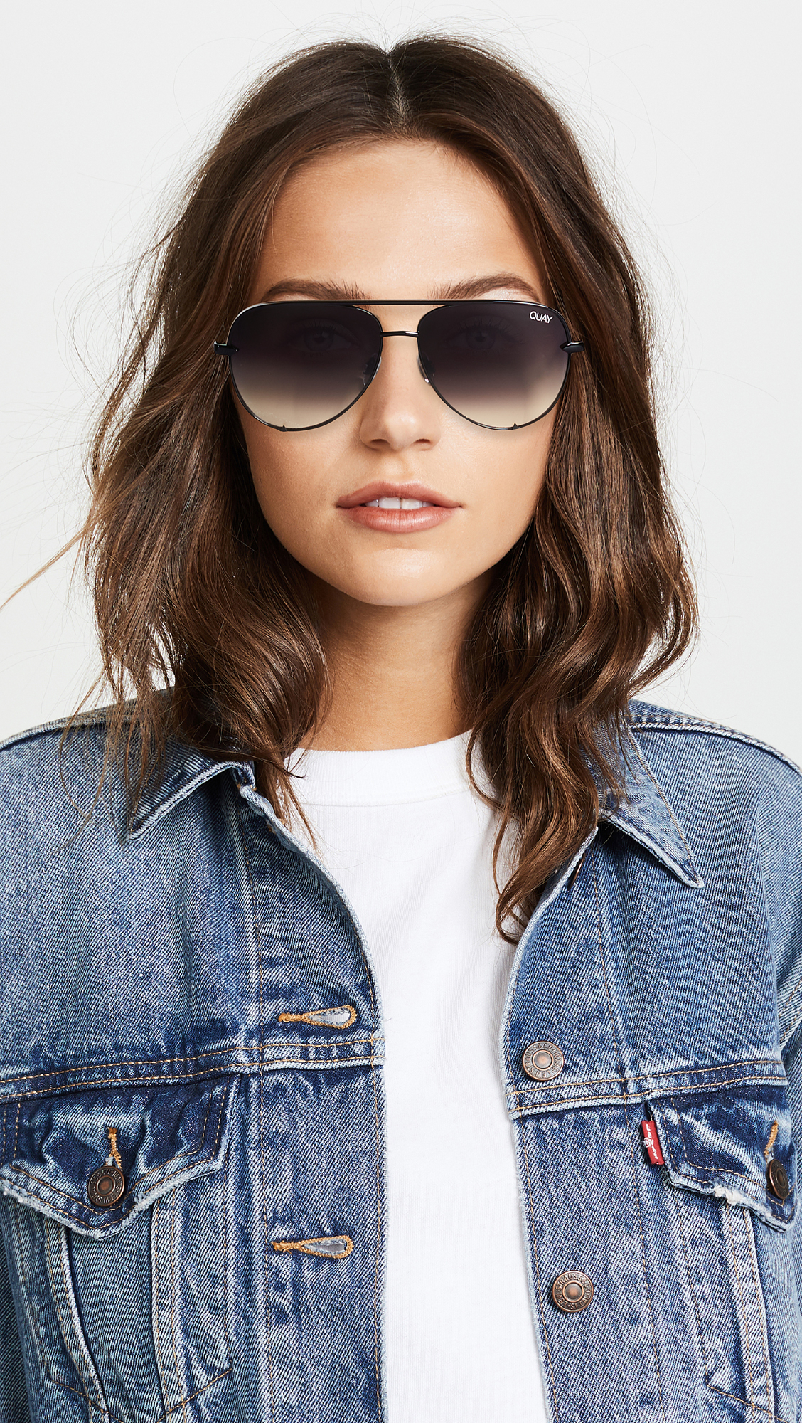 f6fe5c9898 Quay x Desi Perkins High Key Mini Sunglasses