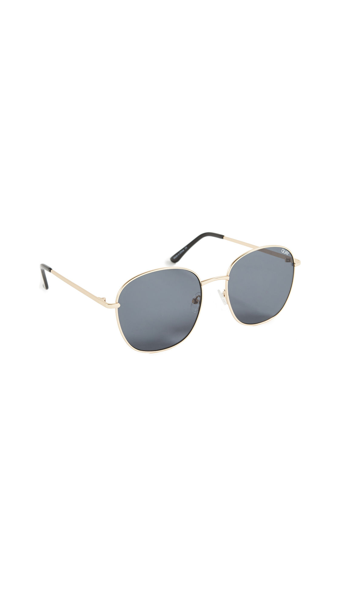0293902f10 Quay Jezabell Sunglasses In Gold Smoke