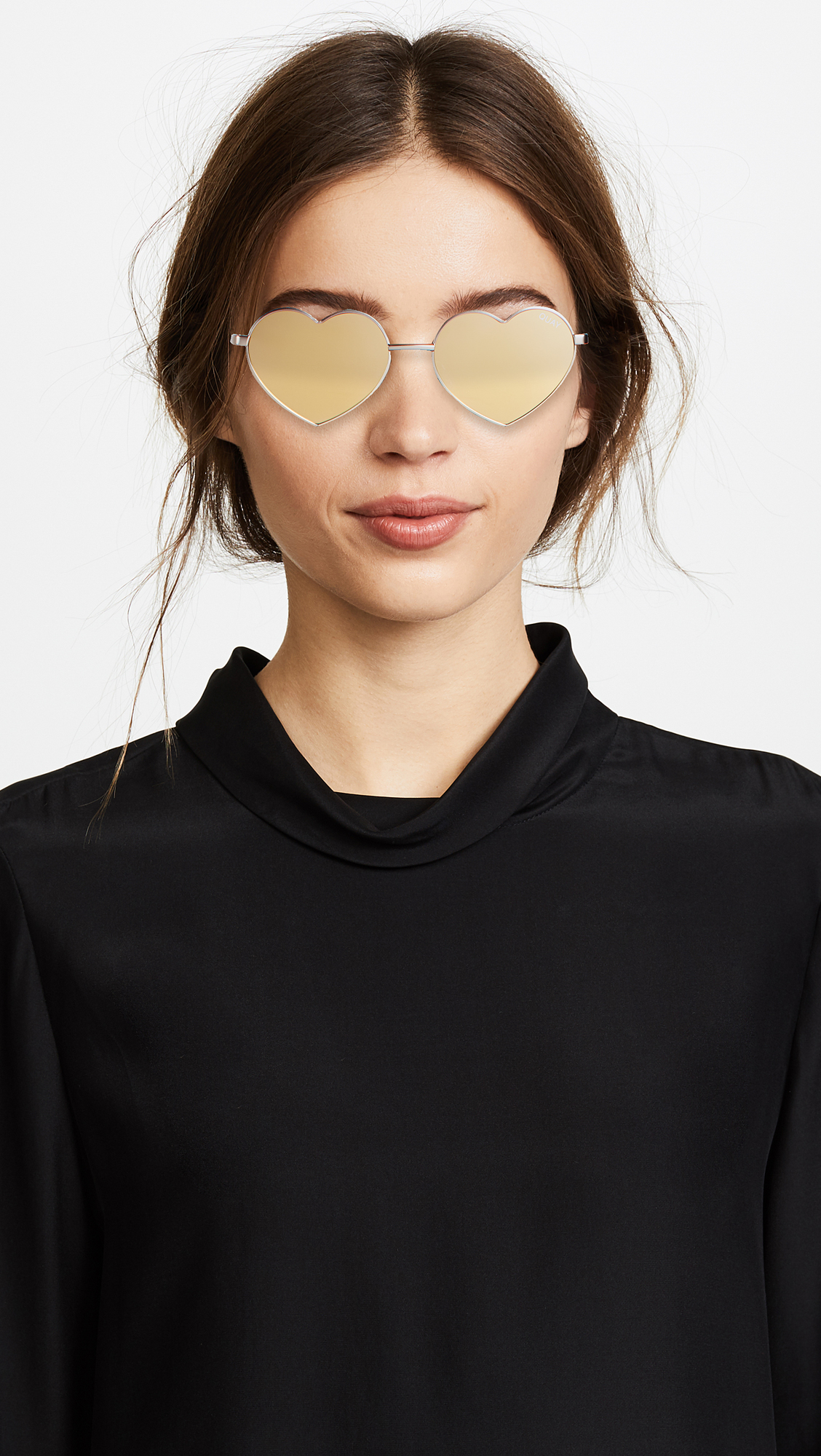 6bad1bdb23838 Quay Heart Breaker Sunglasses
