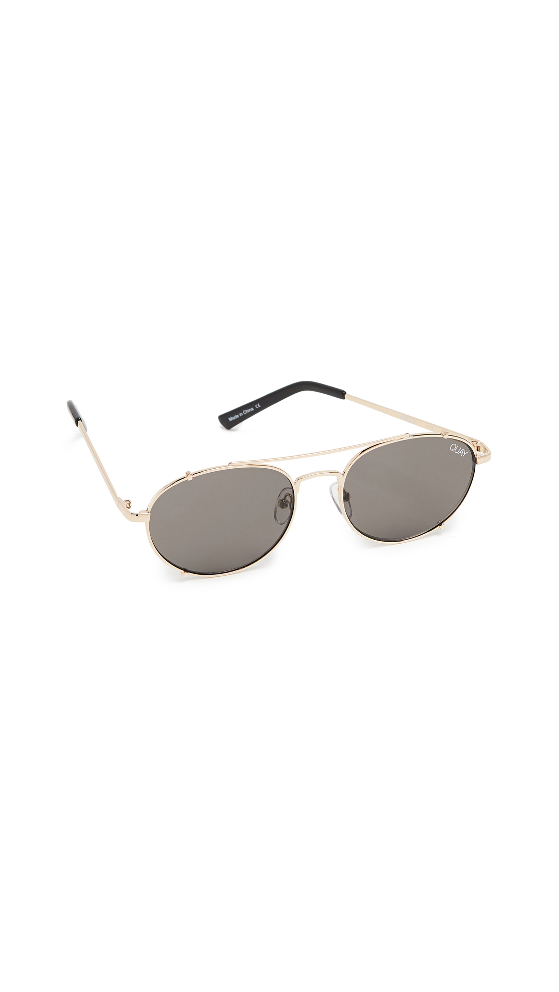 Little J 55Mm Aviator Sunglasses - Gold/ Smoke, Gold/Smoke