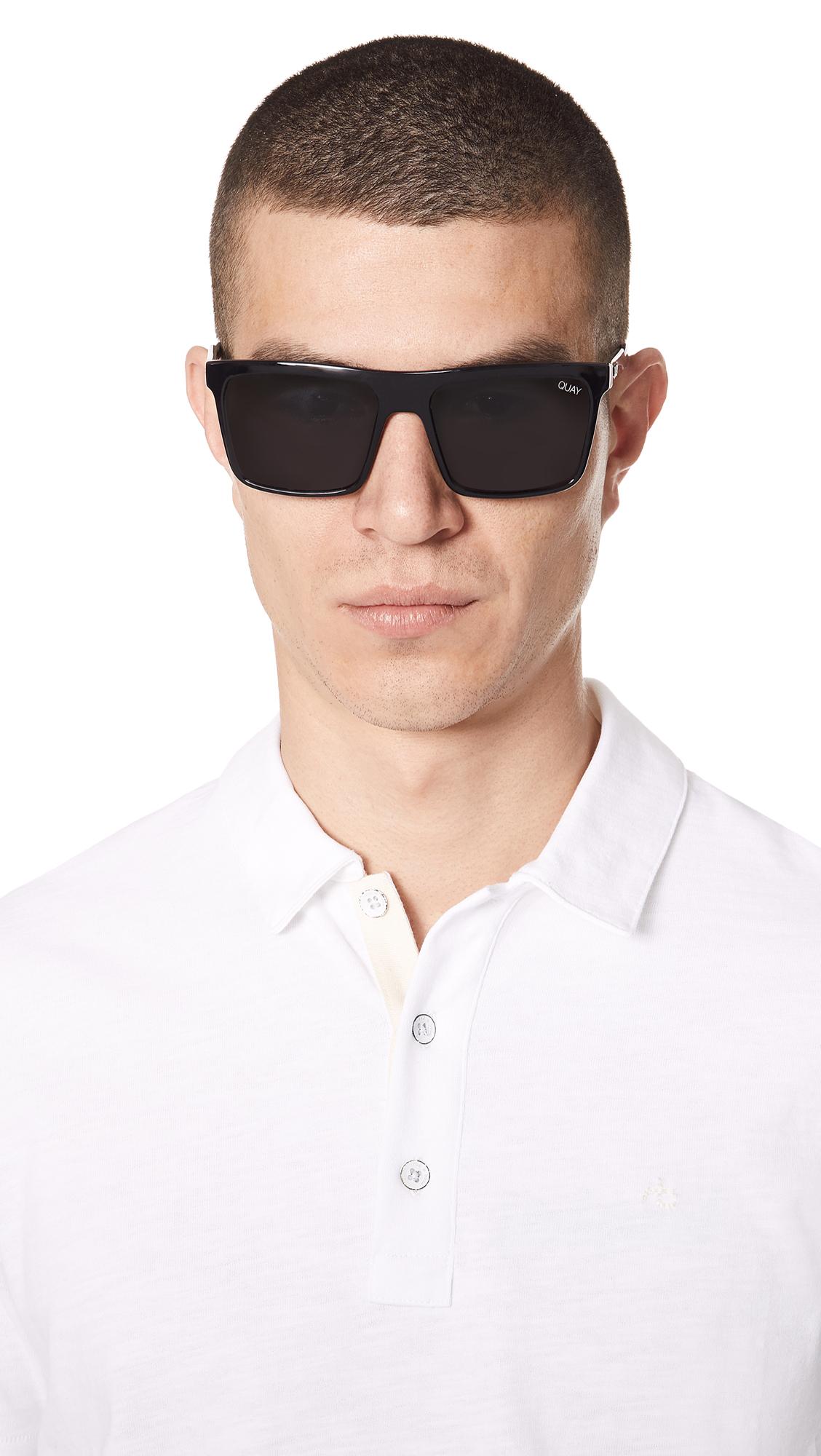 8bfe0366b1ce8 Quay Let It Run Sunglasses