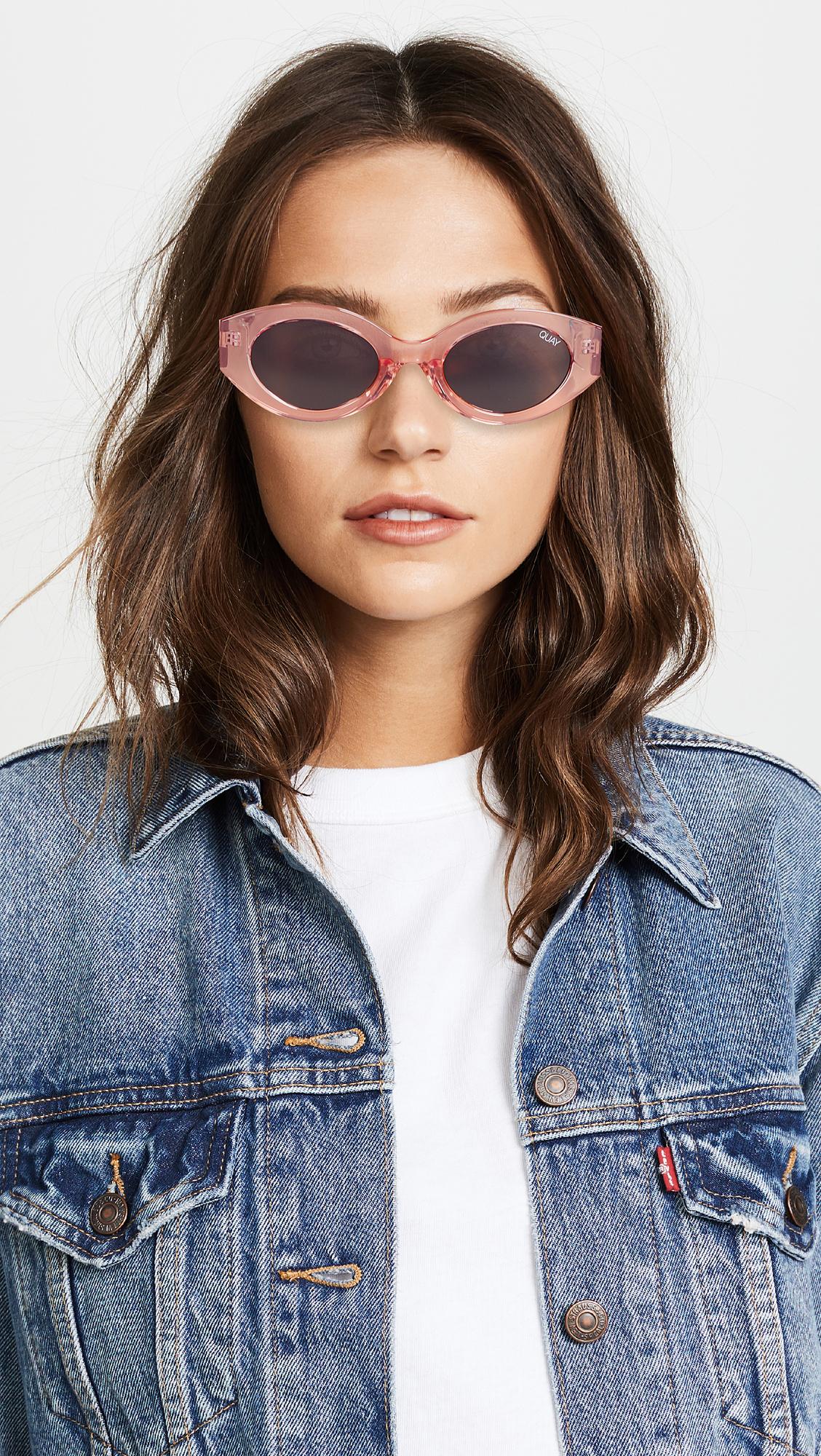 84e20c535f8 Quay See Me Smile Sunglasses