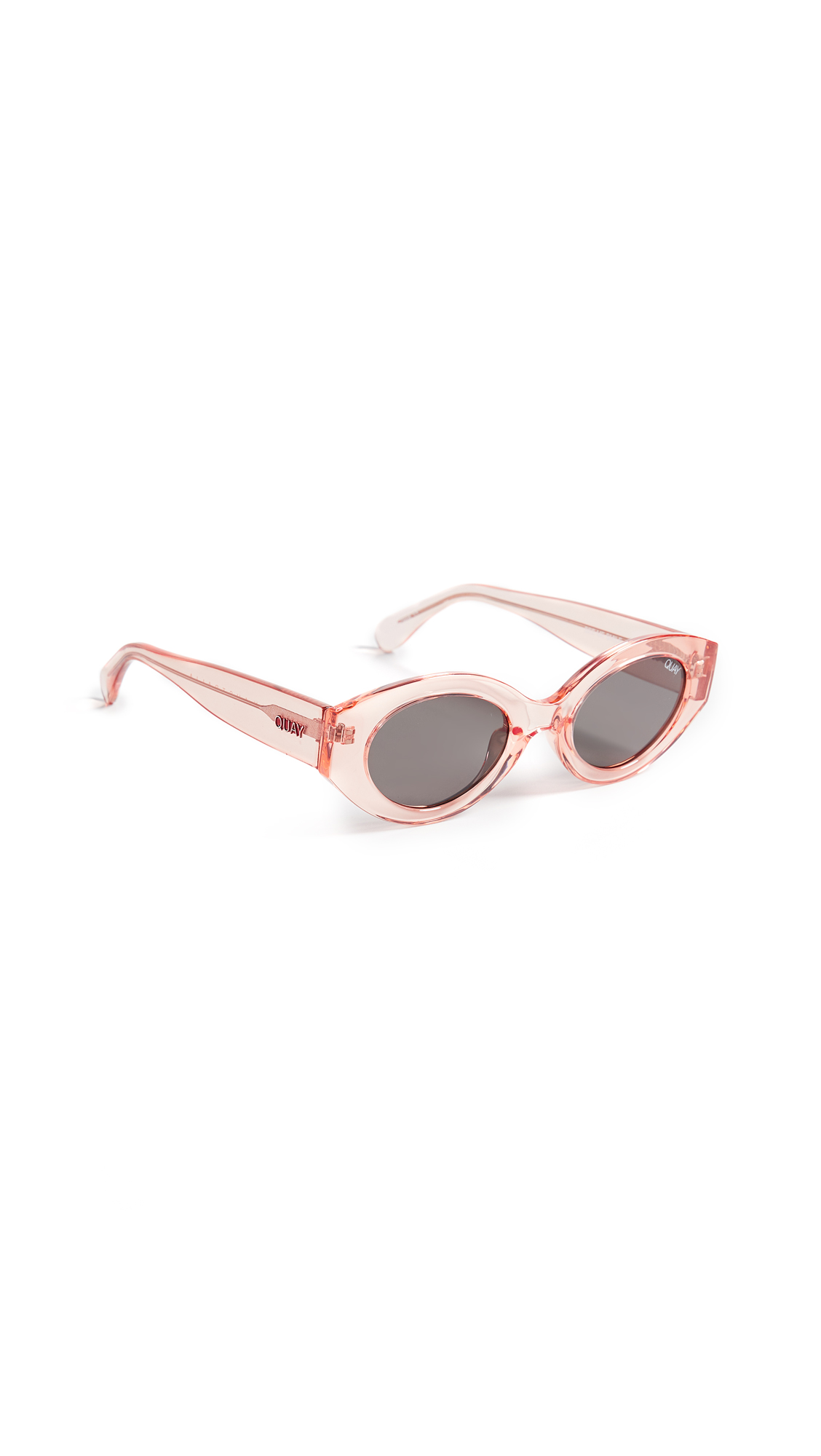 See Me Smile 50Mm Cat Eye Sunglasses - Rose/ Smoke