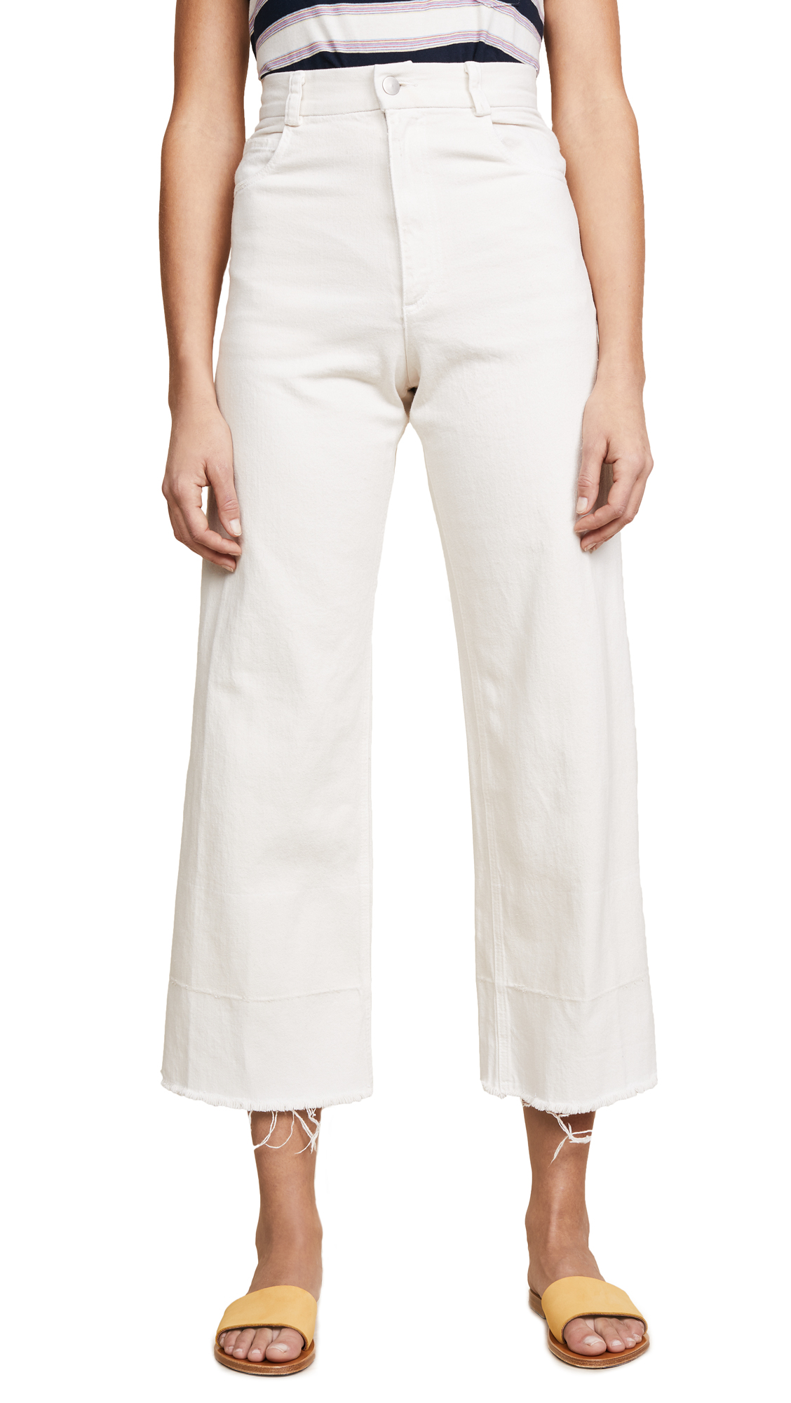 Rachel Comey Legion Jeans In Dirty White Wash