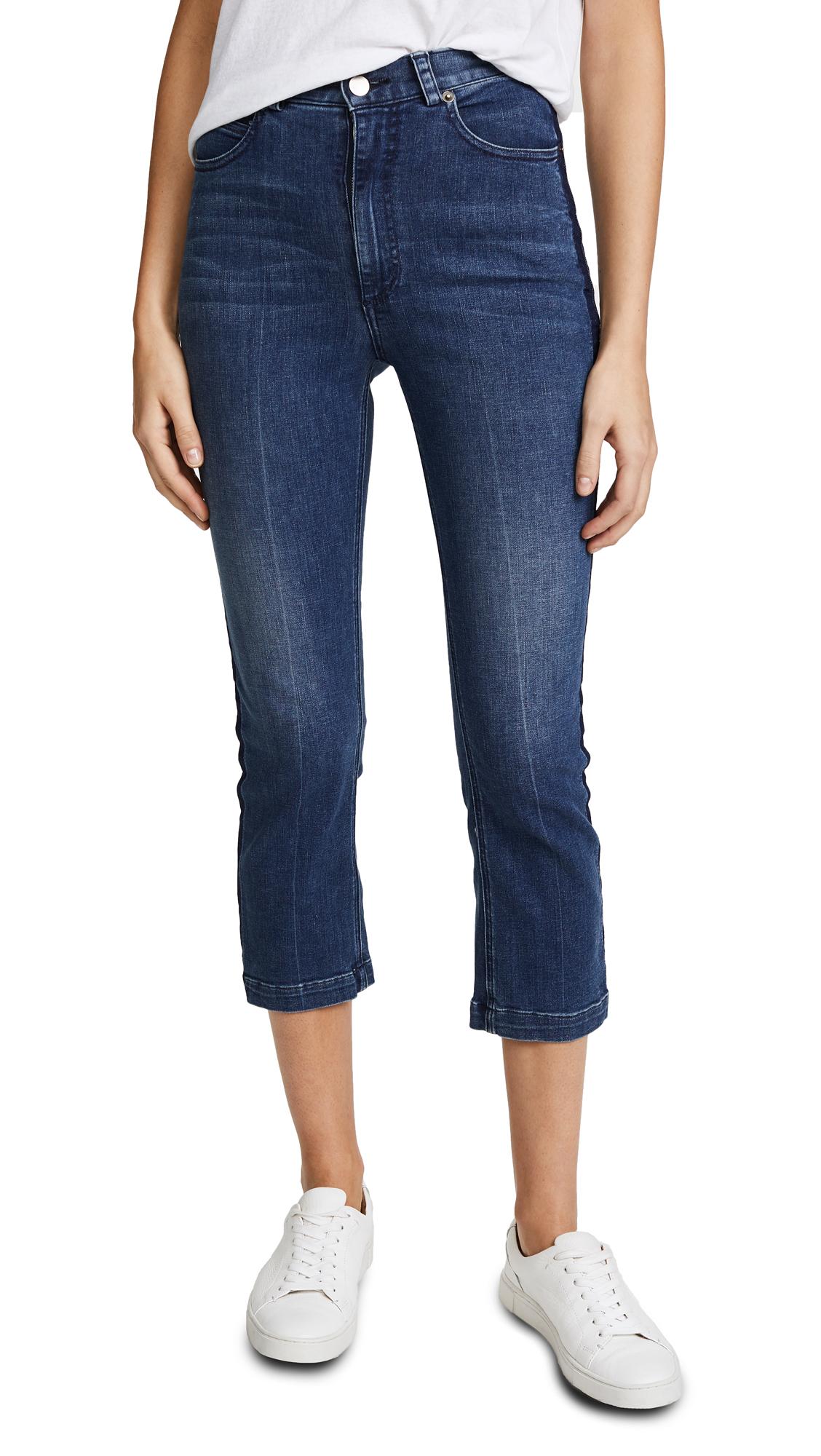 Rachel Comey Cropped Tux Jeans - Classic Indigo Wash