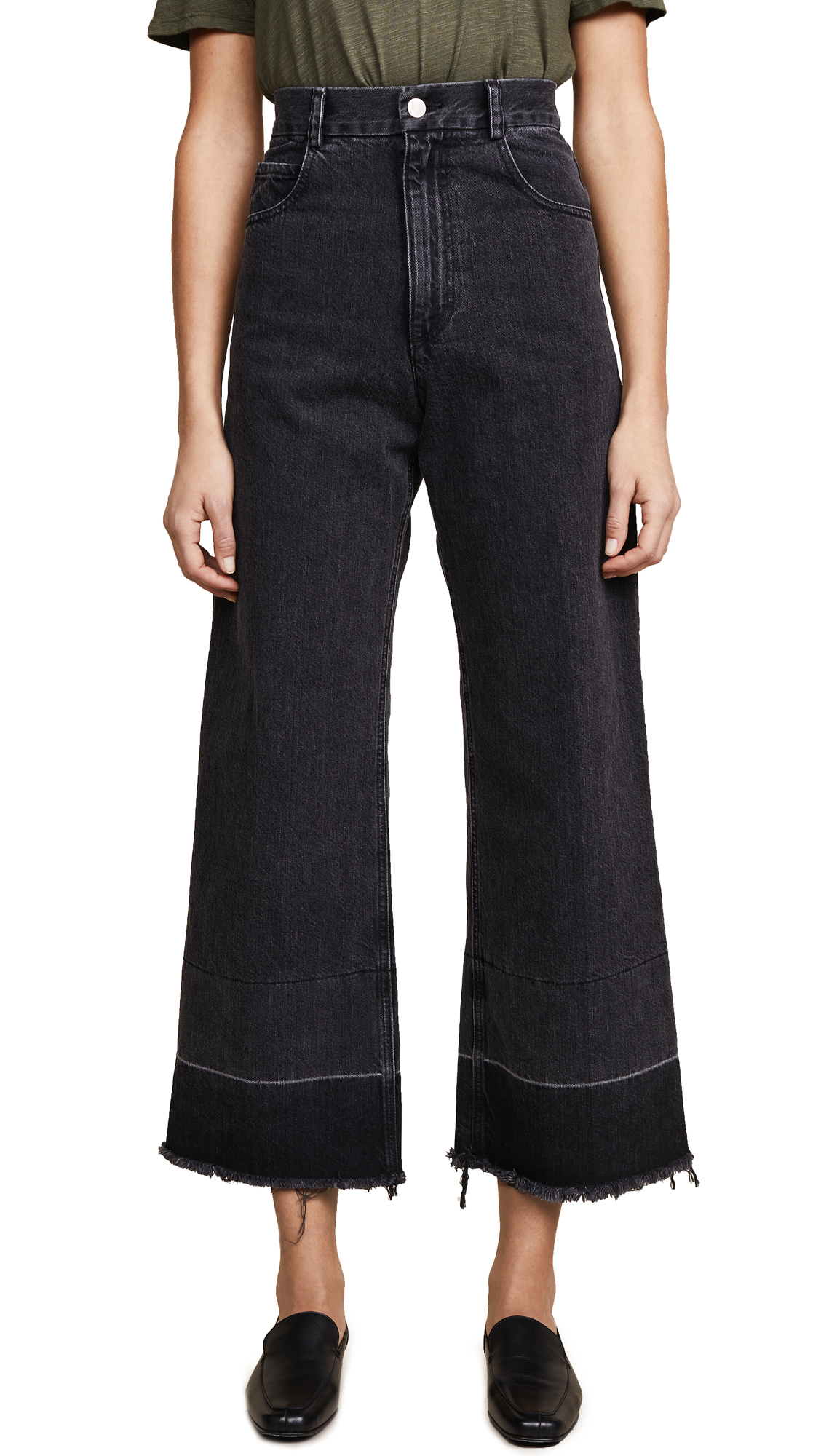 Rachel Comey Legion Jeans - Washed Black