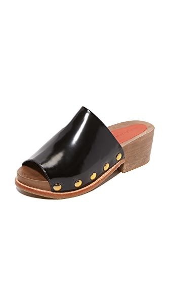 Rachel Comey Dover Slides - Black