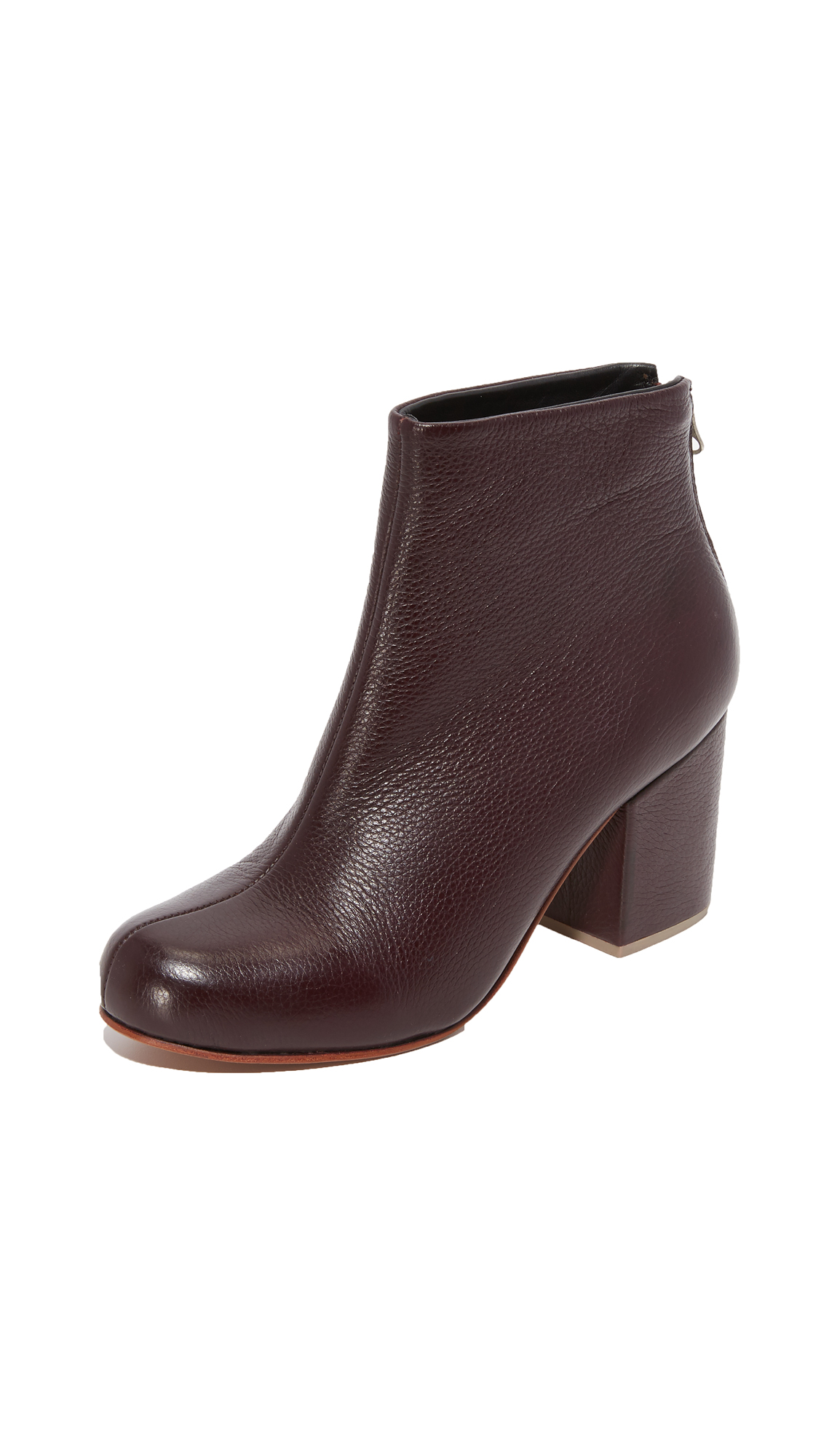 Rachel Comey Tilden Booties - Bordo