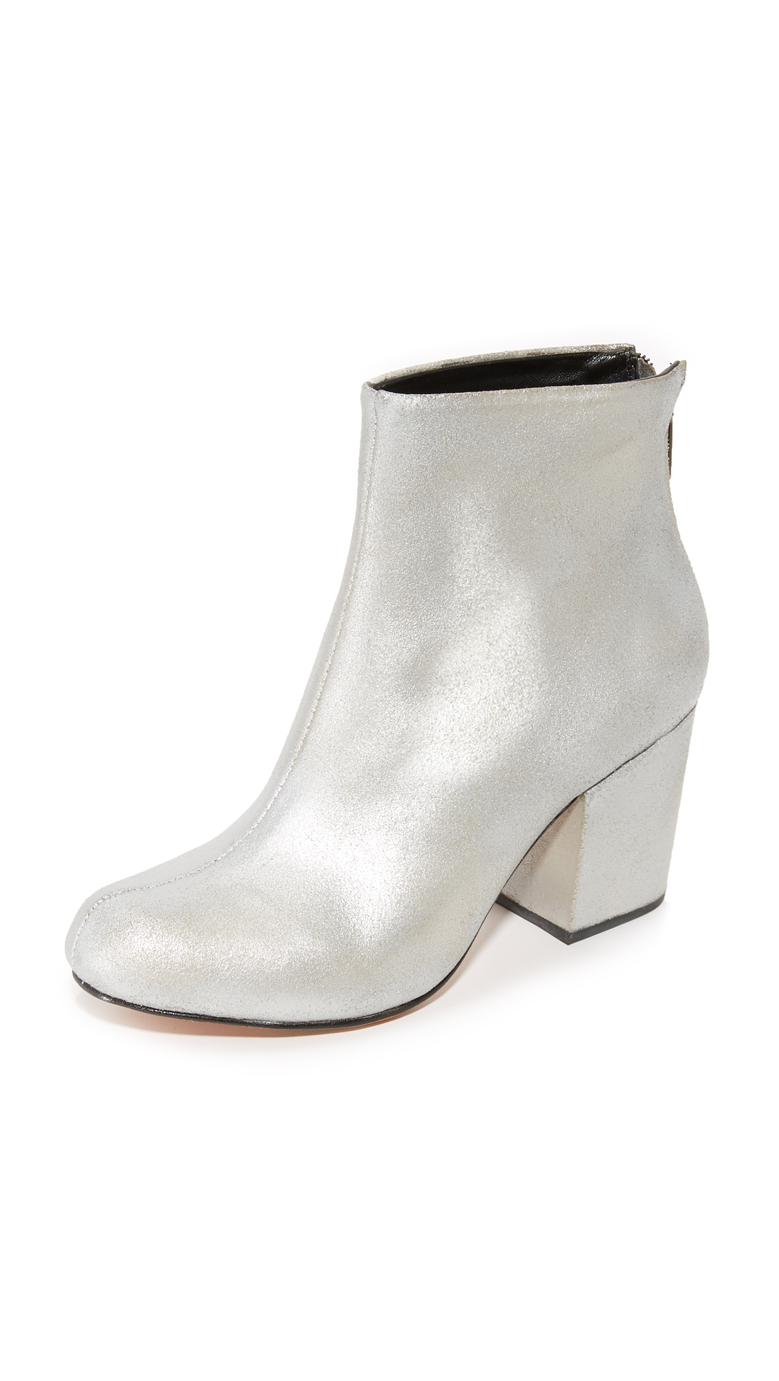 Rachel Comey Tilden Booties - Distressed Silver