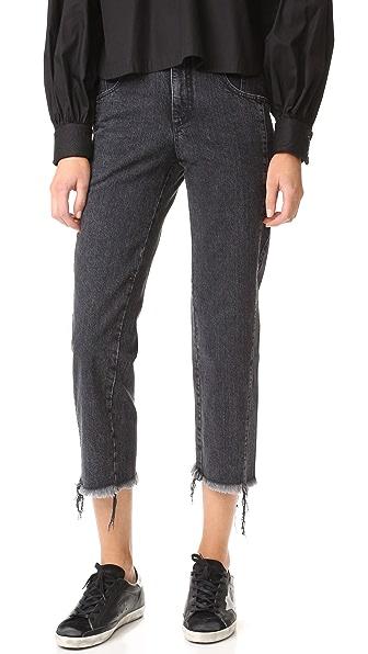 Rachel Comey Trigger Jeans - Washed Black
