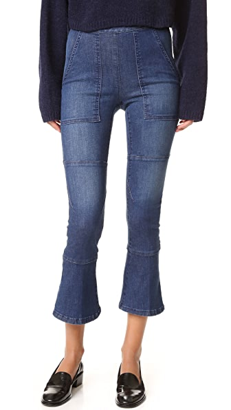 Rachel Comey Pursue Pants - Indigo Stretch