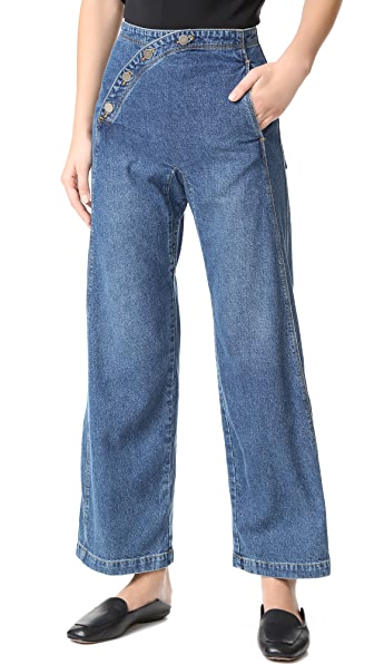 Rachel Comey Sailor Bishop Jeans - Classic Indigo
