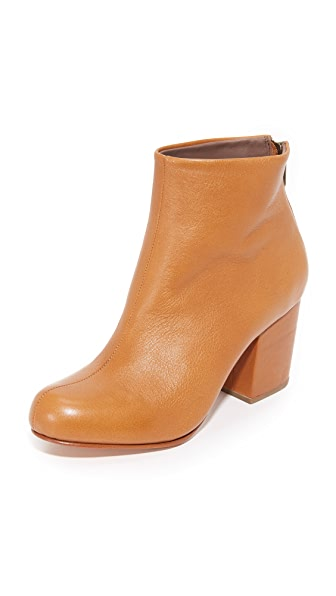 Rachel Comey Tilden Booties - Polished Caramel
