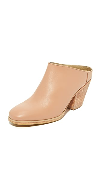 Rachel Comey Mars Mules - Polished Clay