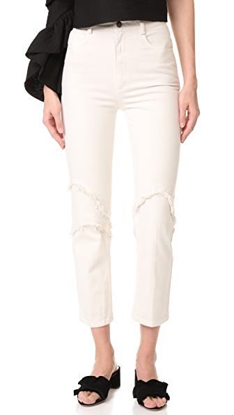 Rachel Comey Ticklers Pants - Dirty White