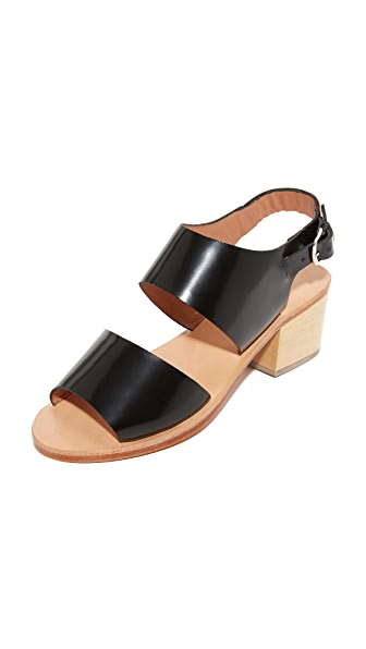 Rachel Comey Tulip Sandals In Black