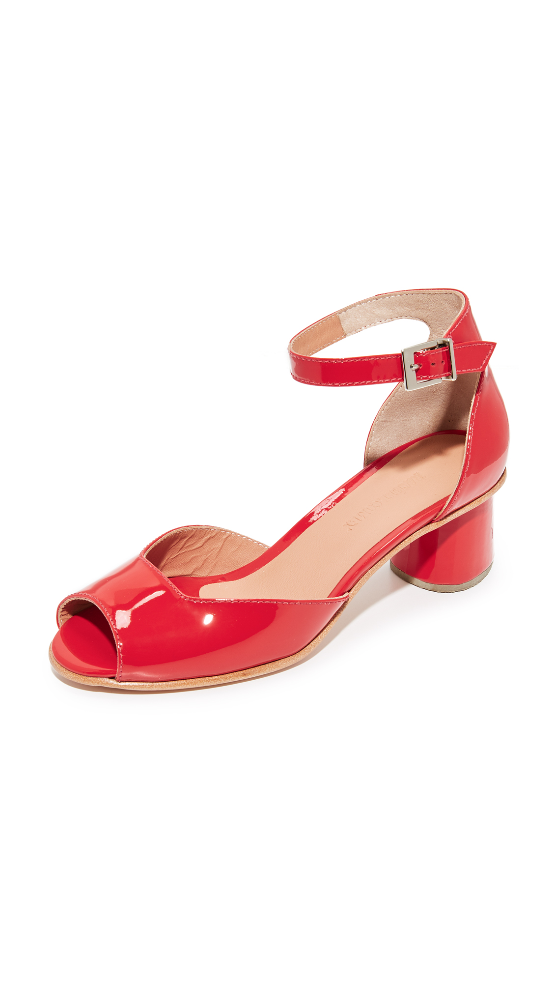Rachel Comey Bodie City Sandals - Vermillion
