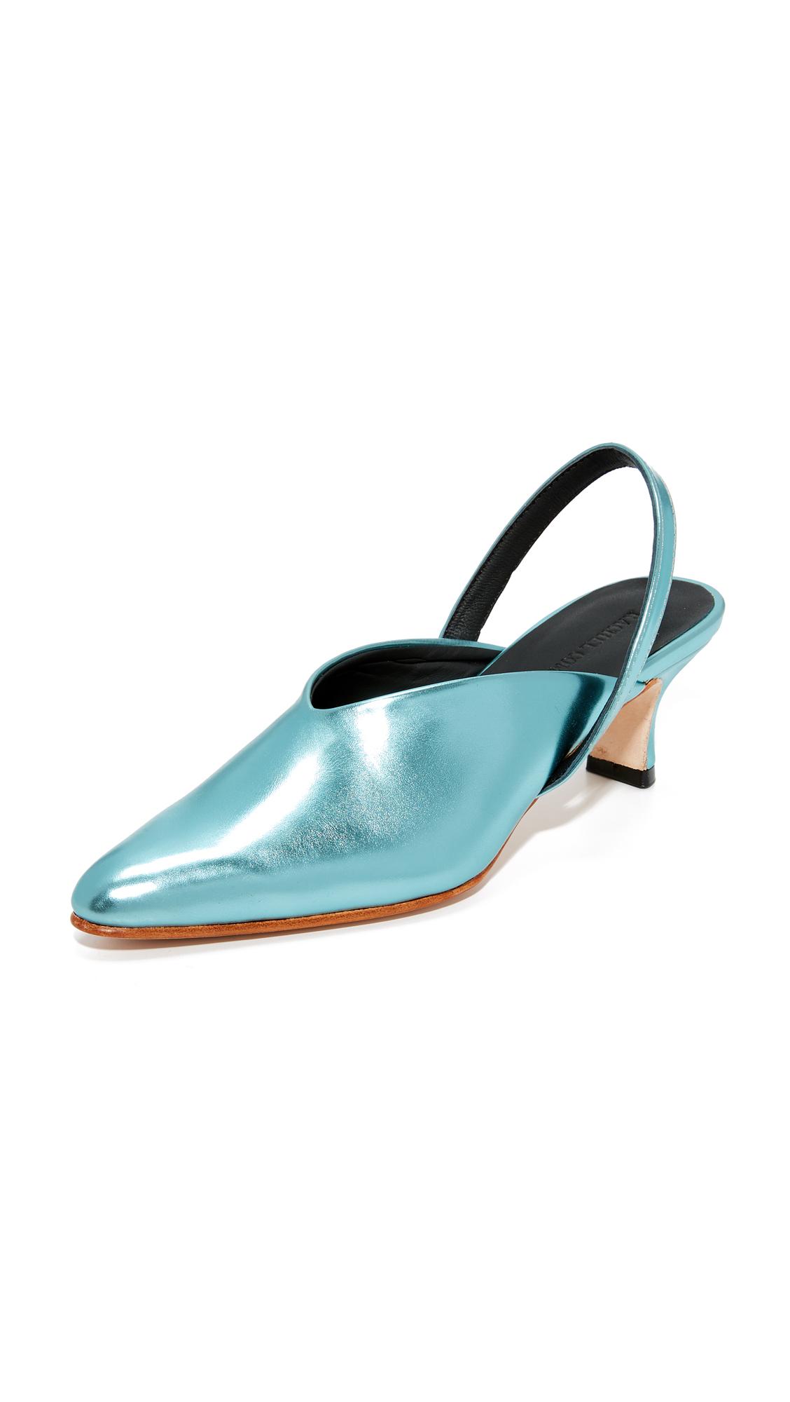 Rachel Comey Wext Slingback Pumps - Metallic Blue