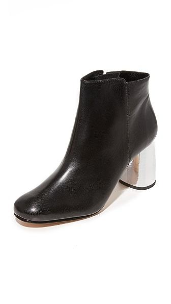 Rachel Comey Lin Booties - Black/Silver