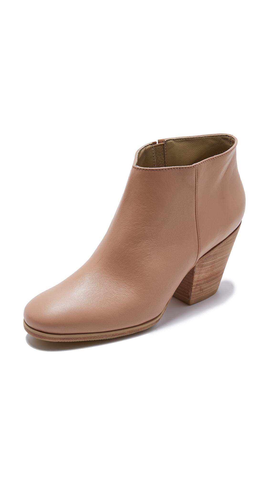 Rachel Comey Mars Booties - Polished Clay