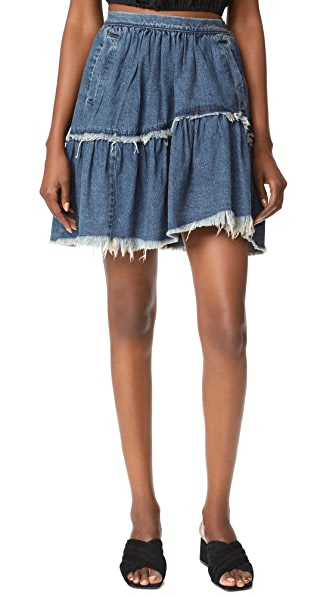 Rachel Comey Denim Crinoline Skirt at Shopbop