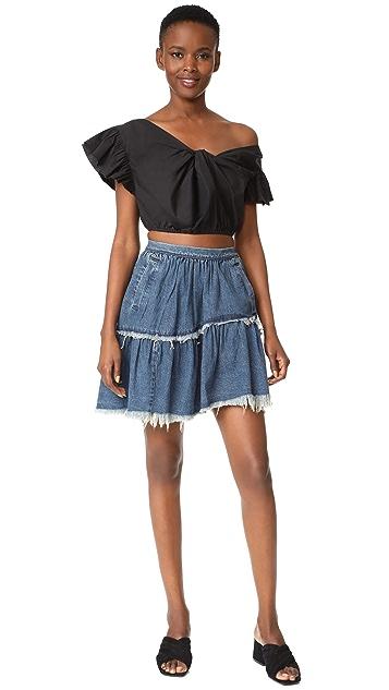 Rachel Comey Denim Crinoline Skirt
