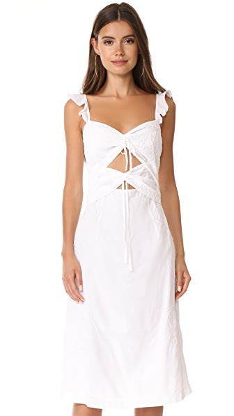 Rachel Comey Ruffle Chernist Dress