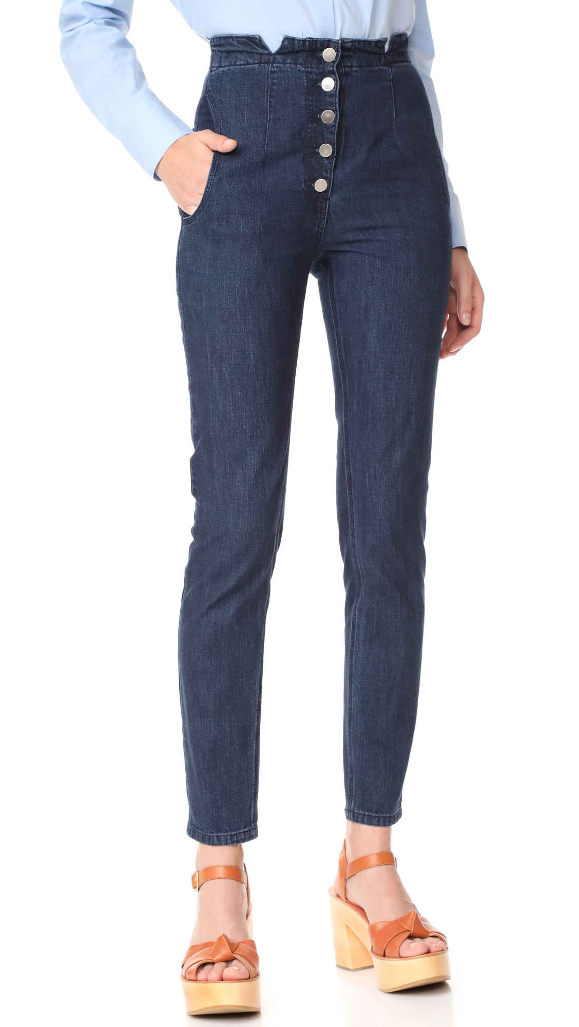 Rachel Comey Dock Jeans - Ink Wash