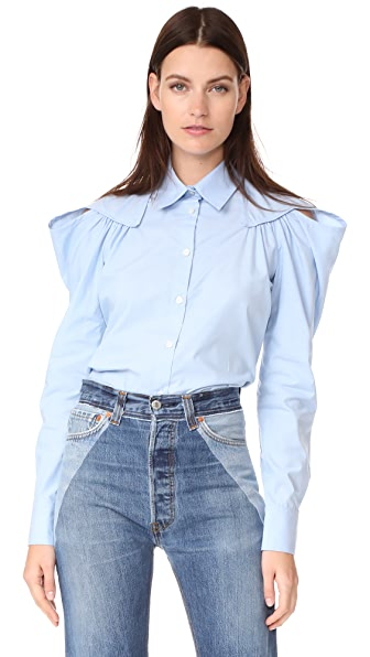 Rachel Comey Crescent Shirt - Blue
