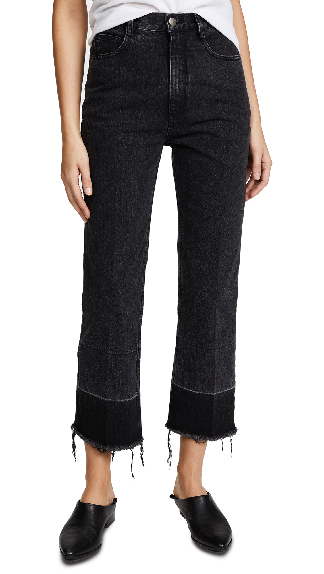 Rachel Comey Slim Legion Pants In Washed Black