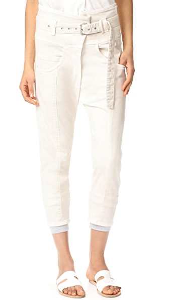 Rachel Comey Long Tolleson Pants - Dirty White