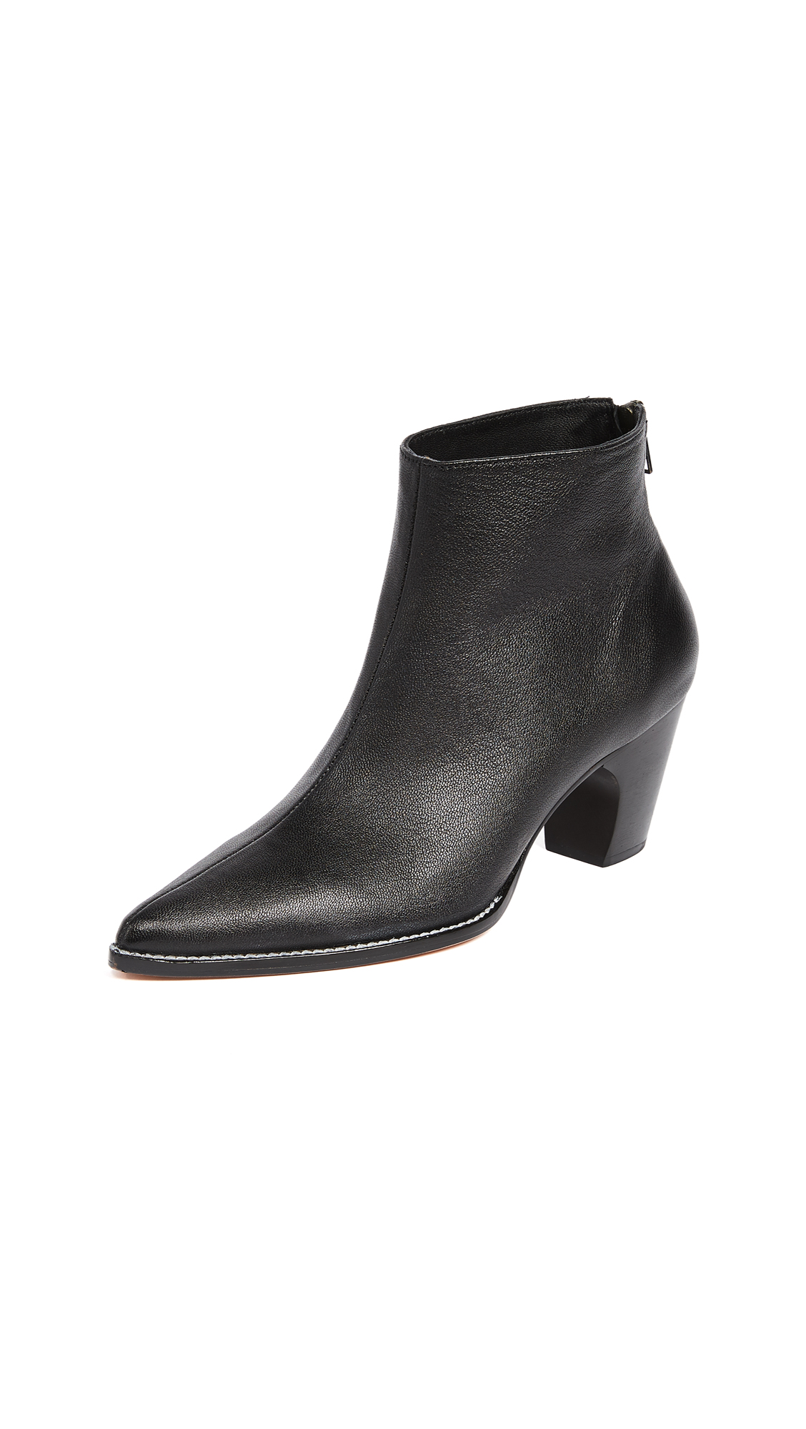 Rachel Comey Sonora Pointed Booties - Black