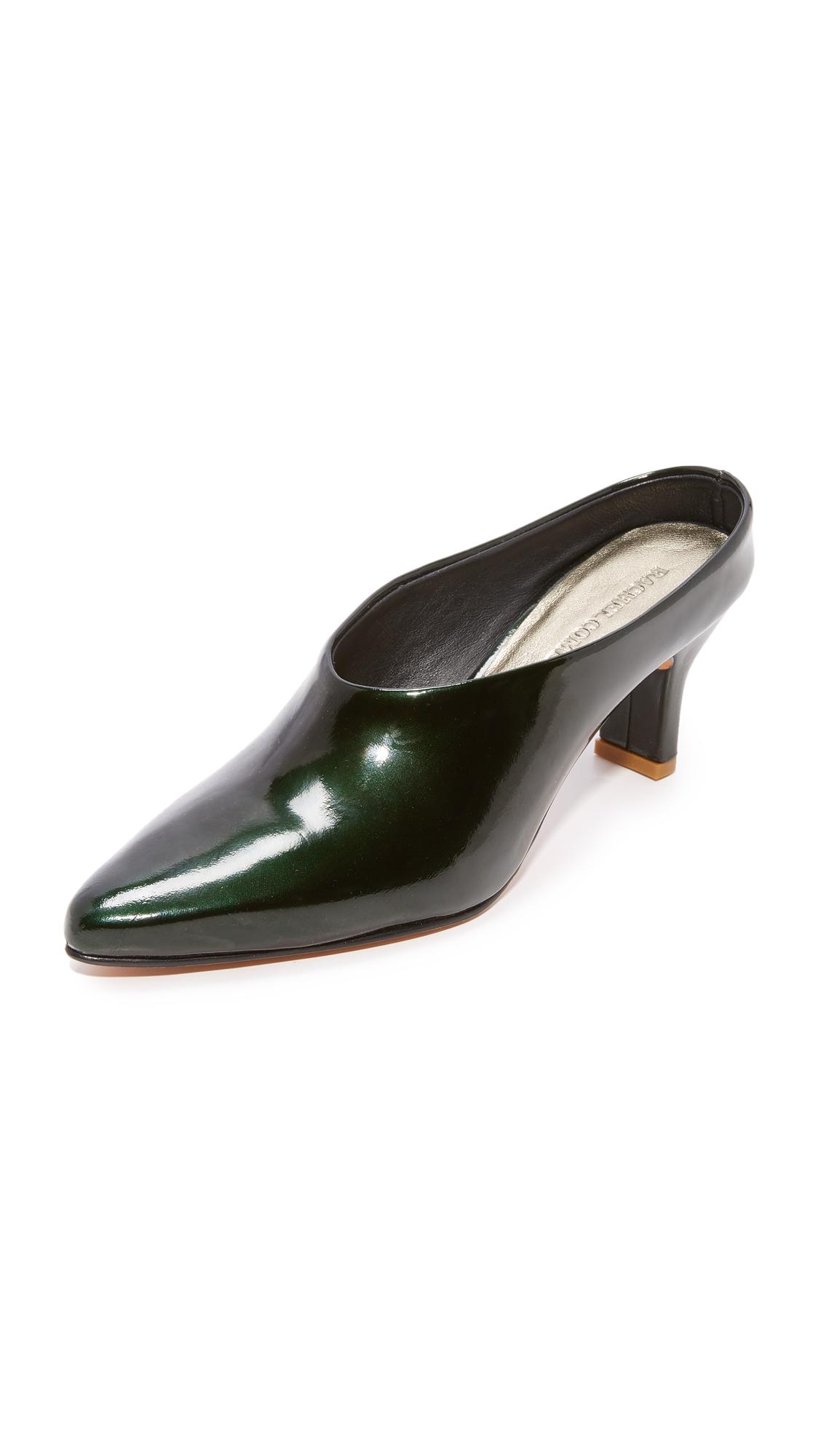 Rachel Comey Alder Mule Pumps - Emerald