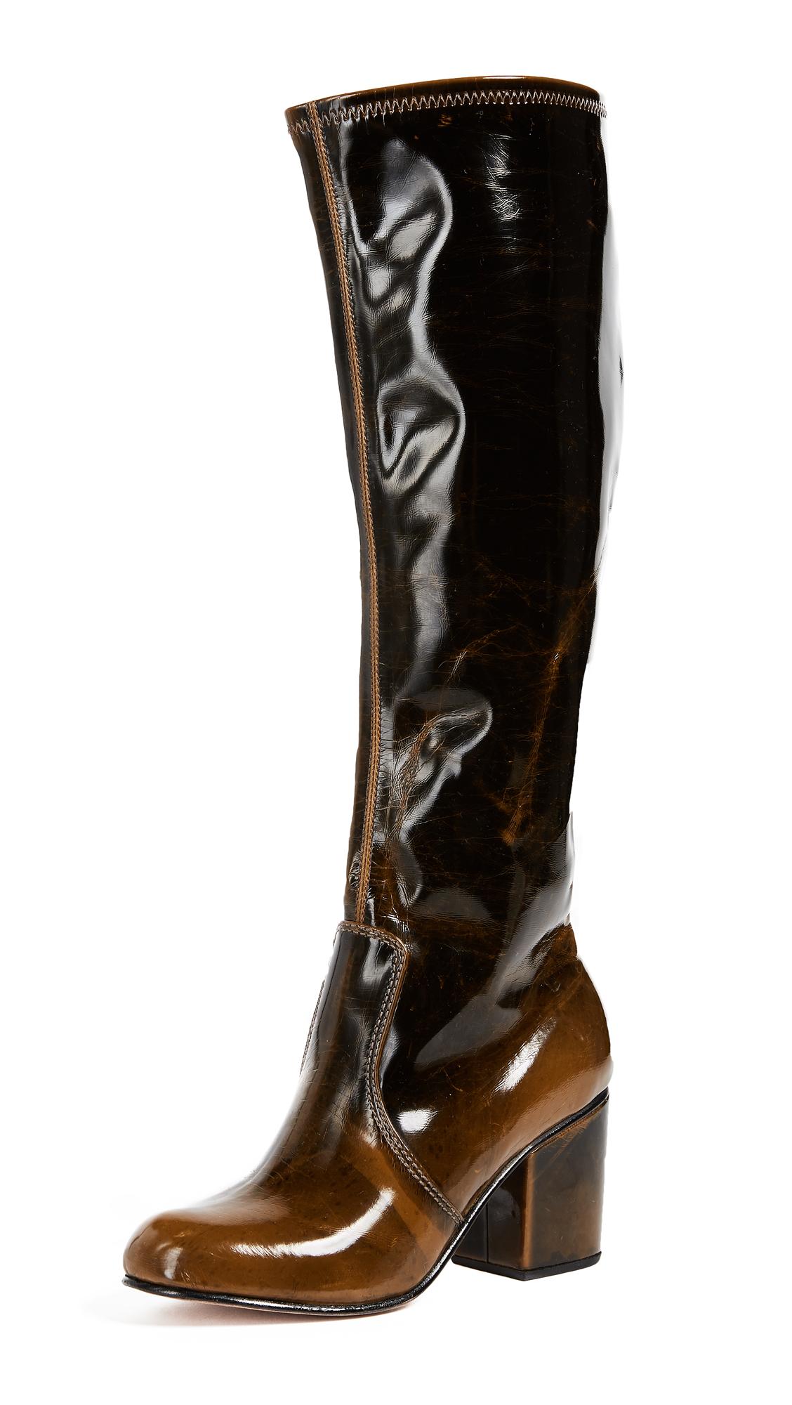 Rachel Comey Braes Knee High Boots - Olive