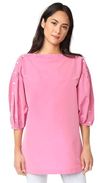 Rachel Comey Billow Top - Fuschia